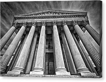 Supreme Court Building 8 Canvas Print by Val Black Russian Tourchin