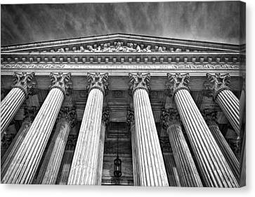 Supreme Court Building 9 Canvas Print by Val Black Russian Tourchin