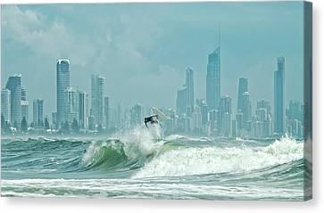 Surfers Paradise Canvas Print by Thomas Kurmeier