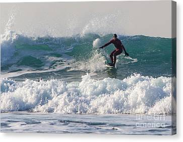 Surfers Paridise Canvas Print by Brian Roscorla