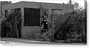 Surfside Market Canvas Print by Cheryl Young