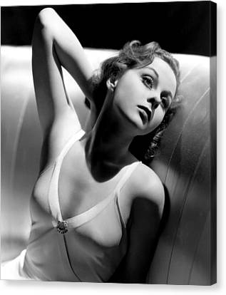 Susan Hayward, Paramount Pictures, 1939 Canvas Print by Everett