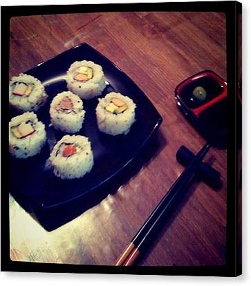 Sushi Canvas Print by Pablo Grippo