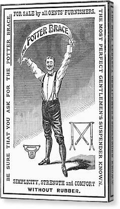 Suspenders, 1888 Canvas Print by Granger