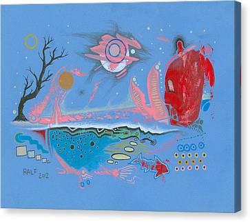 Swampworld Redux Canvas Print by Ralf Schulze