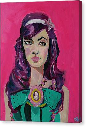 Sweet Like Barbie Canvas Print by Adam Kissel