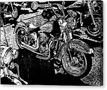 Sweet Ride Canvas Print by John Tate