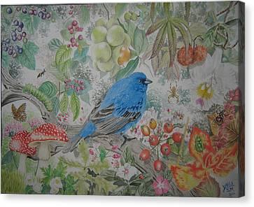 Sweet Temptations Canvas Print by Karla Segura Millan