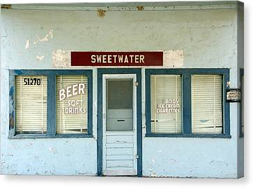 Sweetwater Store Canvas Print by Jeff Lowe