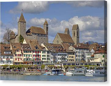 Switzerland Rapperswil Canvas Print by Joana Kruse