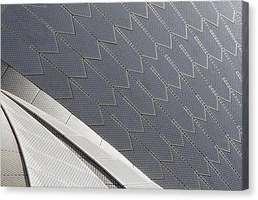 Sydney Opera House Roof Canvas Print by Martin Cameron