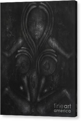 Symbol Canvas Print by Darko Mitrevski