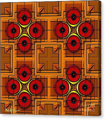 Symmetrica 188 Canvas Print by Nedunseralathan R