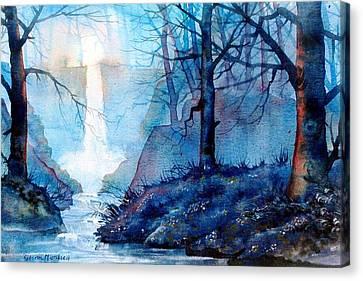 Syvan Spout Canvas Print by Glenn Marshall