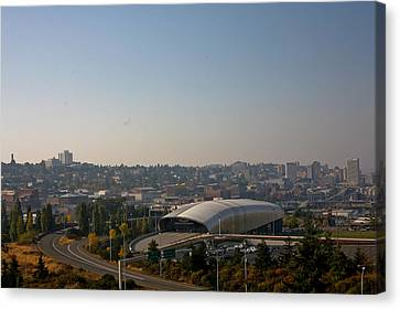 Tacoma's Grand Entrance Canvas Print by Robby Green