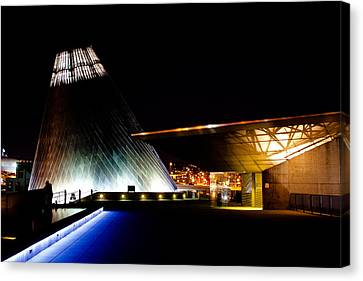 Tacoma's Museum Of Glass Canvas Print by David Patterson