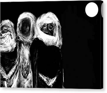 Taken Canvas Print by Ruth Clotworthy