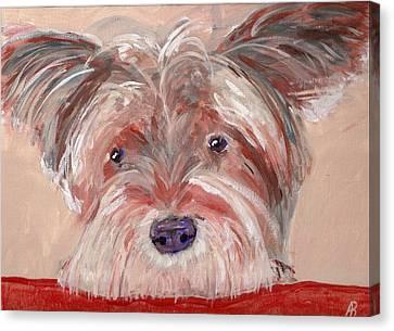 Tallulah Canvas Print by Arthur Rice