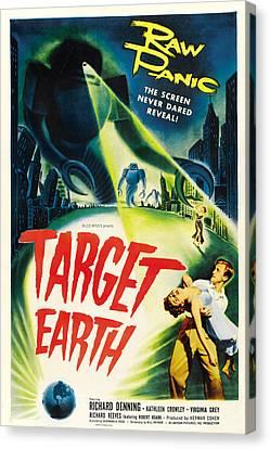 Target Earth, Bottom Right Richard Canvas Print by Everett