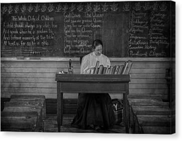 Teachers Rules  Canvas Print by Jerry Cordeiro