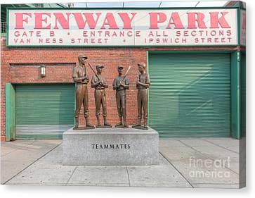 Teammates Canvas Print by Clarence Holmes