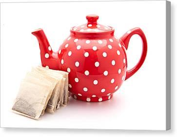 Teapot Canvas Print by Tom Gowanlock