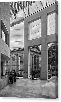 Telfair's Jepson Center Lobby Canvas Print by Lynn Palmer