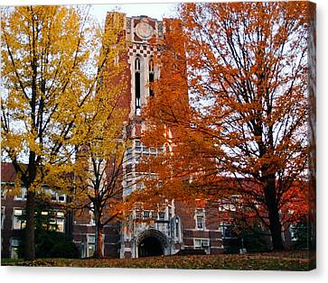 Tennessee Ayers Hall Canvas Print by University of Tennessee Athletics