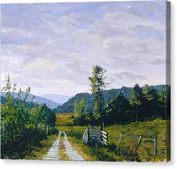 Tennessee Farm Canvas Print by Mark Lunde
