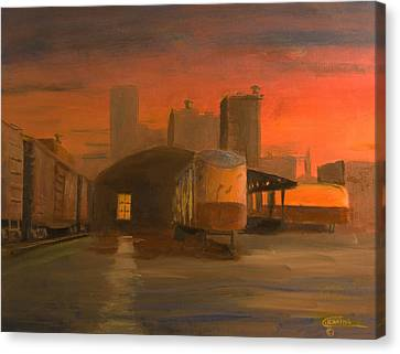 Terminal Transfer Canvas Print by Christopher Jenkins