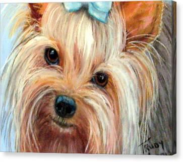Tessa Canvas Print by Trudy Morris