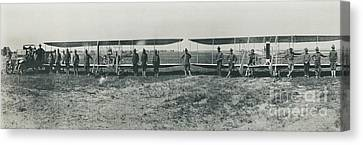 Texas Aero Squadron Canvas Print by Padre Art