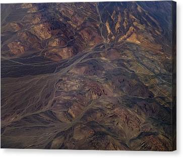 Textures Of Earth Canvas Print by Naman Imagery