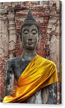 Thai Buddha Canvas Print by Adrian Evans
