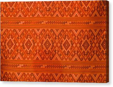 Thai Patterns. Canvas Print by Chatchawin Jampapha