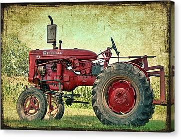 Thank A Farmer Canvas Print by Bonnie Barry