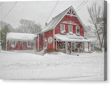 The 1856 Country Store On Main Street In Centerville On Cape Cod Canvas Print by Matt Suess