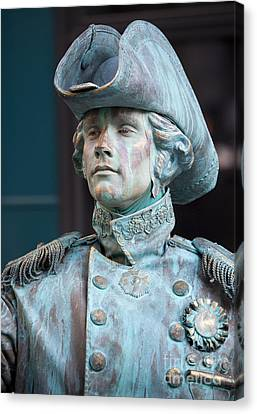 The Admiral Lord Nelson Canvas Print by Chris Dutton