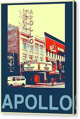 The Apollo Canvas Print by Marvin Blatt
