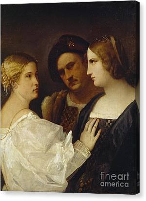 The Appeal  Canvas Print by Tiziano Vecellio Titian