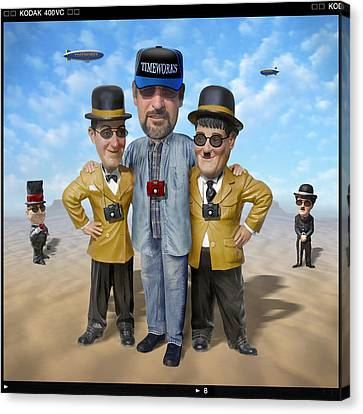 The Apprentice  Canvas Print by Mike McGlothlen