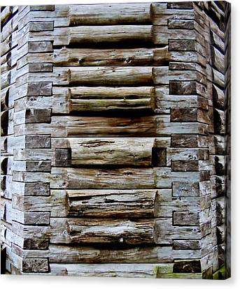 The Art Of Wood 2 Canvas Print by Randall Weidner