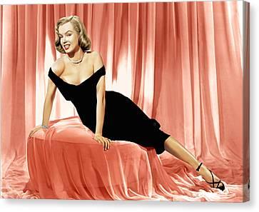 The Asphalt Jungle, Marilyn Monroe, 1950 Canvas Print by Everett