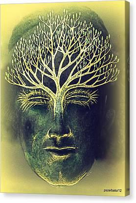 The Awakening Of The Self-awareness Equinox Canvas Print by Paulo Zerbato