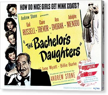 The Bachelors Daughters, Top To Bottom Canvas Print by Everett