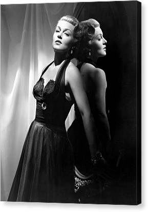 The Bad And The Beautiful, Lana Turner Canvas Print by Everett