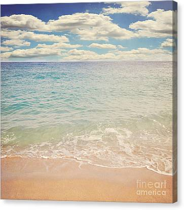 The Beach Canvas Print by Lyn Randle