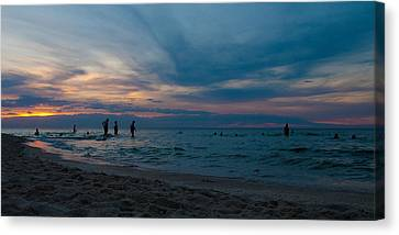 The Beach Canvas Print by Tim Nichols