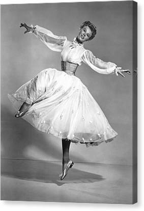 The Belle Of New York, Vera-ellen, 1952 Canvas Print by Everett