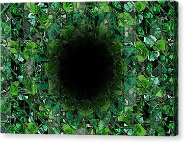 The Black Hole Canvas Print by Stefan Kuhn
